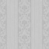 Açık gri çizgili duvar kağıdı damask desen Vizyon 607122