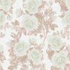 Yeşil gül desenli duvar kağıdı Vizyon 607526